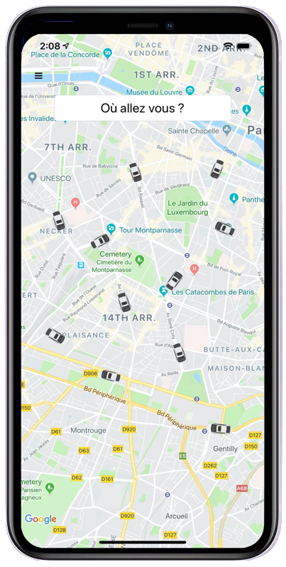 Application Taxi Club
